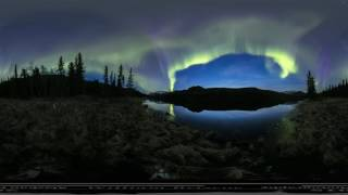 EPIC NORTHERN LIGHTS FOOTAGE IN 360 FORMAT. MUST WATCH!!!