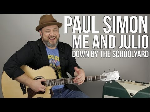 Me and Julio Down By the Schoolyard - Easy Guitar Lesson for ...