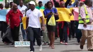 Nigerians march against amnesty for Jonathan