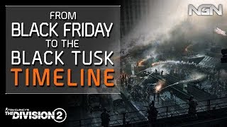 From Black Friday to the Black Tusk - Timeline || Story / Lore || The Division 2