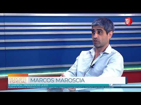 Entrevista a Marcos Maroscia