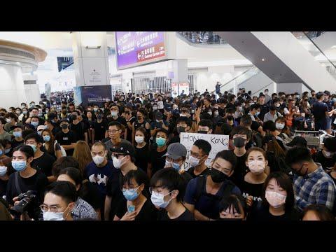 Live | Hong Kong protests continue at the city's airport