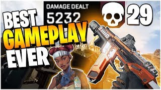 One of the BEST Apex Legends Gameplays EVER (29 Kills 5300 damage)