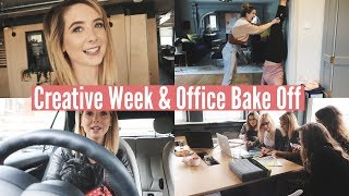 CREATIVE WEEK & OFFICE BAKE OFF | WEEKLY VLOG
