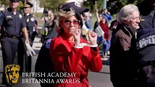 Jane Fonda Arrested While Accepting BAFTA Britannia Award