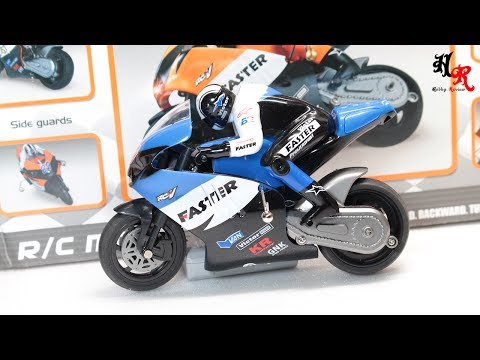 Racing Speed RC Motorcycle Unboxing Part 1 | Hobby Review
