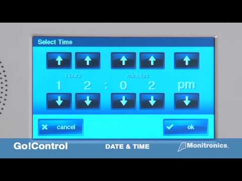 GO CONTROL   How to change Date & Time