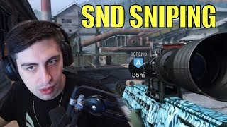 SHROUD ▪ Insane Sniping In SND【Call Of Duty Modern Warfare】