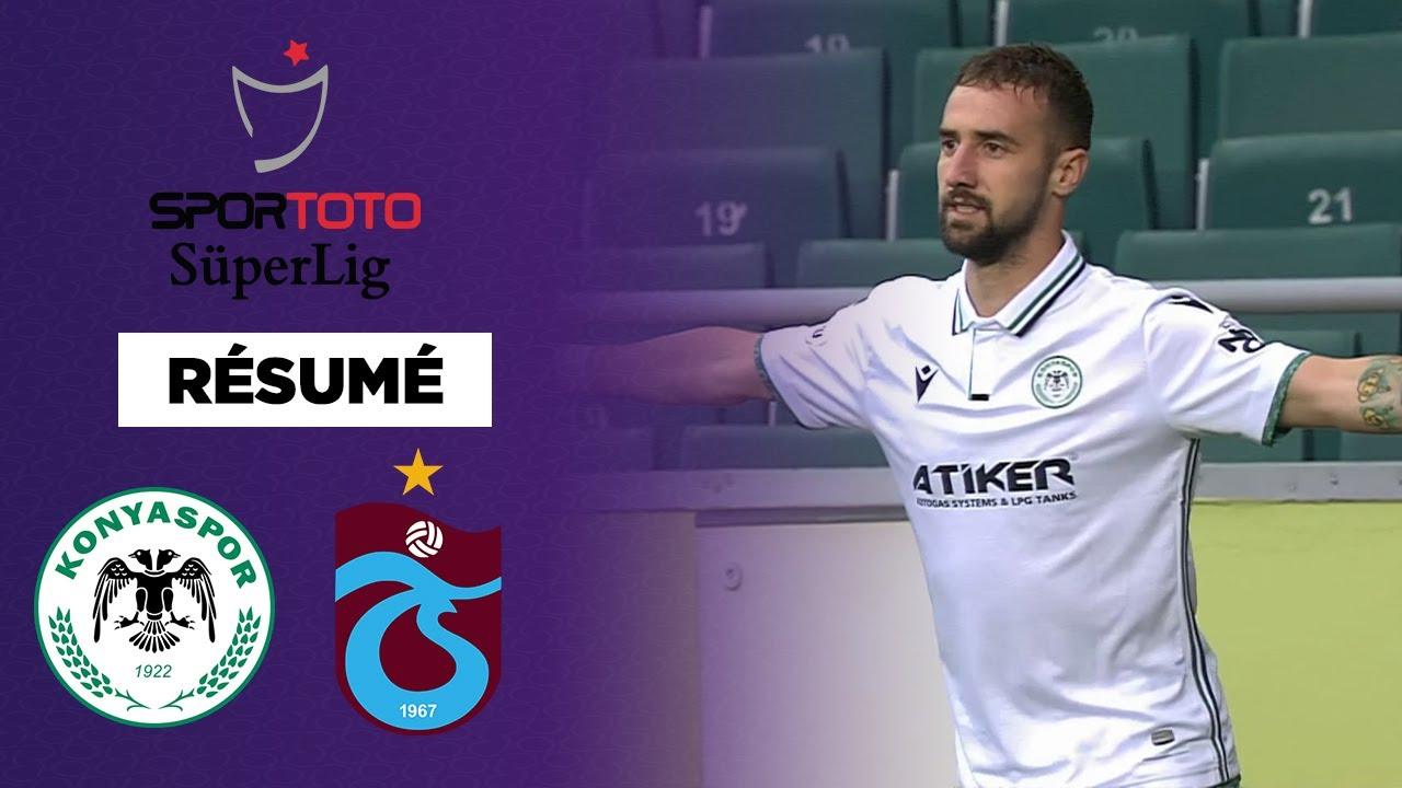 🇹🇷 Résumé - SüperLig : Konya-Trabzon, un choc à rebondissements !