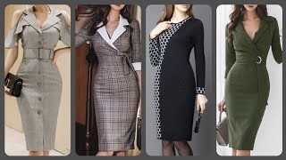 Stylish (2020) Casual Daily Wear Office Wear Bodycon Dresses Styles And Ideas