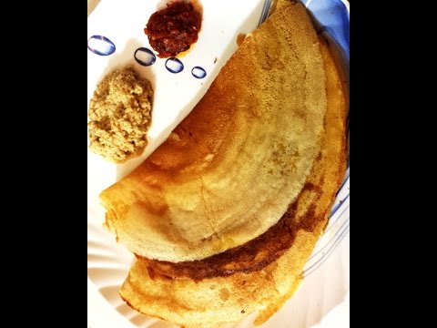 Crispy Wheat Dosa/Quick Breakfast Recipe/Indian Wheat Crepes