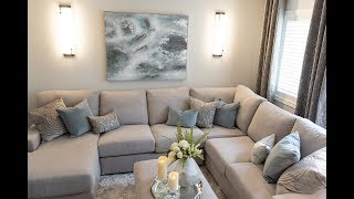 Bright & Simple Living Room Makeover - Kimmberly Capone Interior Design