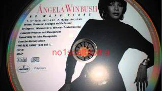 "Angela Winbush ""No More Tears"" (7"" Vocal Edit)"