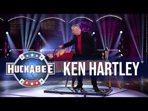 Ken Hartley Performs An Incredible LEVITATION Illusion | Huckabee