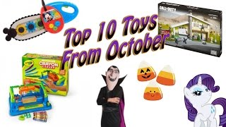 TTPM Top 10 Toys from October! Fisher-Price, Rubies, Hasbro
