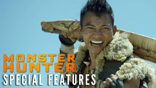 MONSTER HUNTER Special Features Clip – Tony's Weapons | Now on Digital!