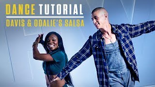 Step Up: High Water | Dance Tutorial | Davis & Odalie's Salsa