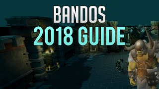 Runescape 3 - Bandos guide (General Graardor) 2018 | Good experience & okay money