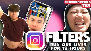 Singaporeans Try: We Let IG Filters Run Our Lives for 72 Hours