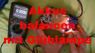 Lithium Akku-Pack manuell balancen - eflose #833
