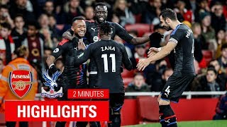 Arsenal 2-2 Crystal Palace | Match Highlights