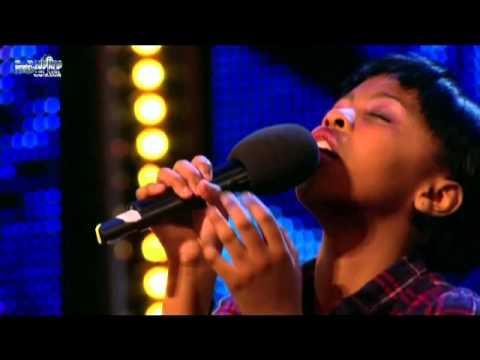 11 Year Old ASANDA JEZILE sings Rihanna's Diamonds on Britain's Got Talent
