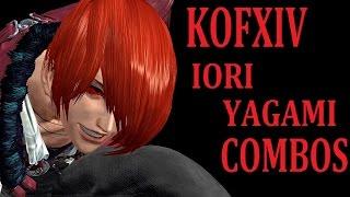 KOFXIV IORI YAGAMI COMBOS【KOF14 八神庵 コンボ】 DEMOver