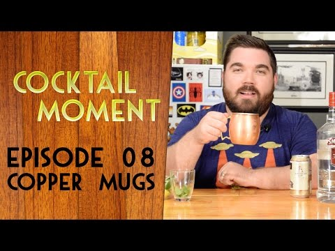Video Cocktail Moment Episode 08 Copper Mugs