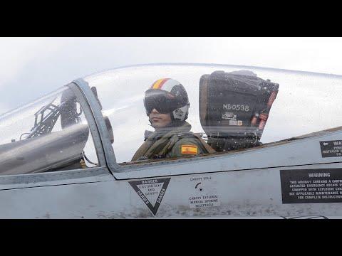 La Fuerza Aérea española asumió el mando de la Misión de Vigilancia Aérea Báltica de la OTAN