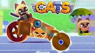 БИТВА САМОДЕЛЬНЫХ МАШИН Видео для детей про сражения КОТИКОВ в Игре CATS: Crash Arena Turbo Stars