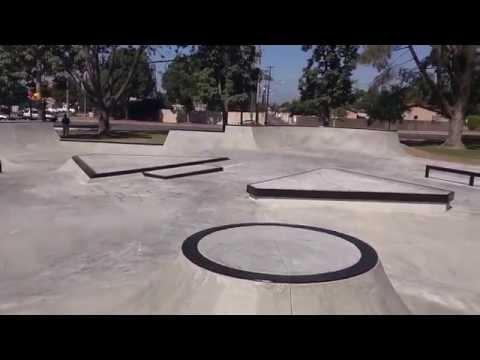 Tour of Ponderosa Skatepark in Anaheim, CA