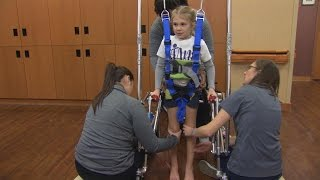 Download Youtube: Girl Paralyzed While Doing Backbend Is Hopeful She'll Walk On Her Own Again
