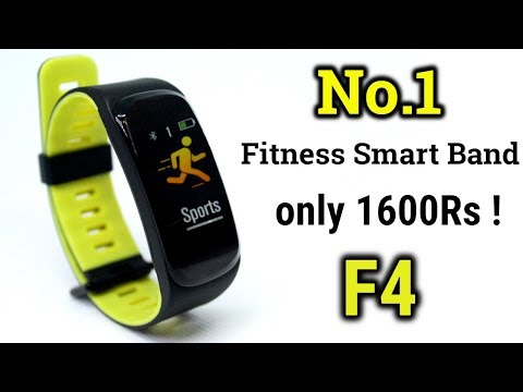 No.1 Fitness Band for only 1600Rs ! BEST Fitness Band in INDIA