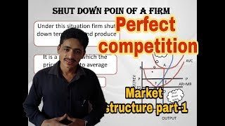 #1 perfect competition, market structure part - 1 for UGC-NET economics and commerce