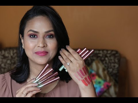 Lakme 9 to 5 Naturale Matte Sticks Lipstick – Review Swatches
