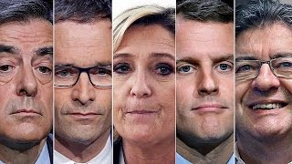 Франция: кандидаты в президенты голосуют на выборах