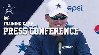 8/6 LIVE Jason Garrett Press Conference | Dallas Cowboys