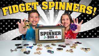 FIDGET SPINNER SURPRISE CHALLENGE!!! 25 Rare Spinners Showdown!
