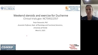 Weekend Steroids and Exercise for Duchenne (March 3, 2021)