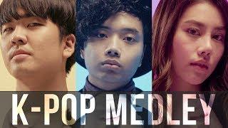 K-Pop Medley   BILLbilly01 ft. Kyutae Oppa and PAAM
