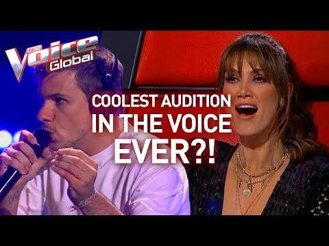 INCREDIBLE looping artist WINS The Voice | Winner's Journey #4 (видео)
