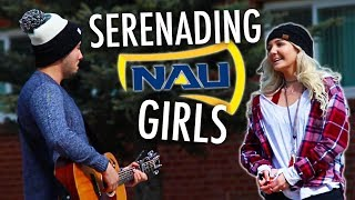 FREESTYLE SERENADING COLLEGE GIRLS!!