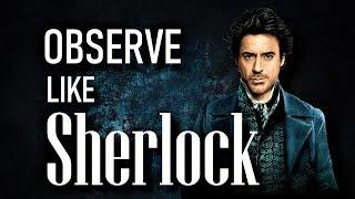 [DIFFICULT] Sherlockian Observation Practice