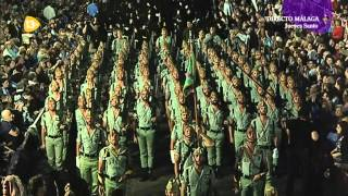 preview picture of video 'Semana Santa Málaga 2014 - Cristo de la Buena Muerte I (Mena - Legión España)'