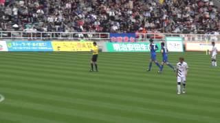 20150503アビスパ福岡VSセレッソ大阪酒井宣福ゴール