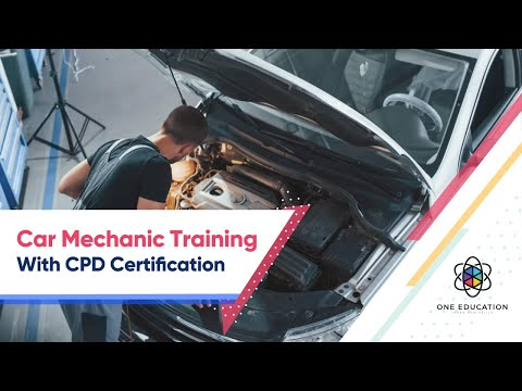 Car Mechanic Training With CPD Certification - YouTube