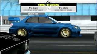 "NFS ProStreet: Fast Drag Challenge (Subaru Impreza WRX STI ""1120 PS"")"