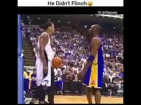 Kobe Bryant Didn't Flinch