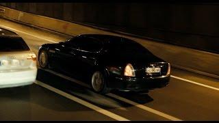 Maserati Quattroporte GTS acceleration sound - Film Intouchable