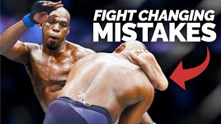 10 of the Biggest Fight Changing Mistakes In The UFC